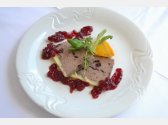 Our Home-made Chicken Liver Pâté with Cranberries und Thyme