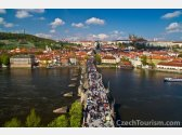 Прага - замок, Карлов мост, Петрин